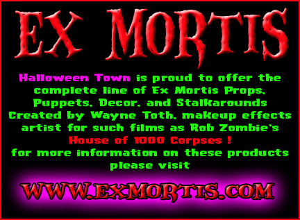 Ex Mortis Stalkarounds, Stalkabouts, haunted House props